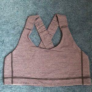 Lululemon Sports Bra Size 10 Criss Cross Back